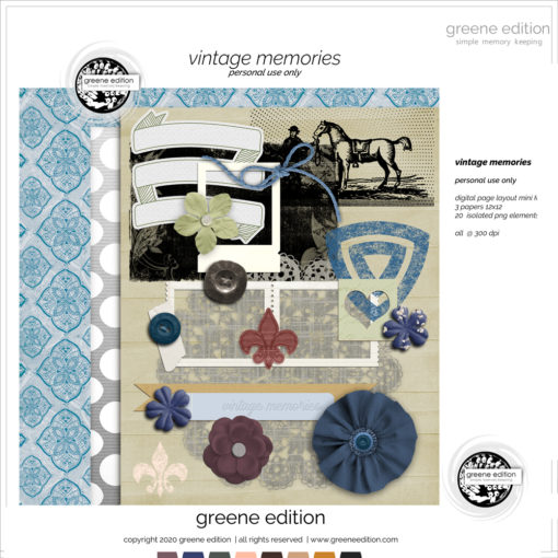 greene edition vintage memories