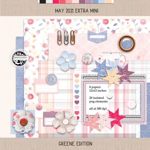 May 2021 Mini Kit 02. greene edition, May 2021 Extra Mini