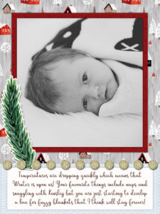 "greene edition, 6x8"" layered template album maker, layout by Kayl Turesson"