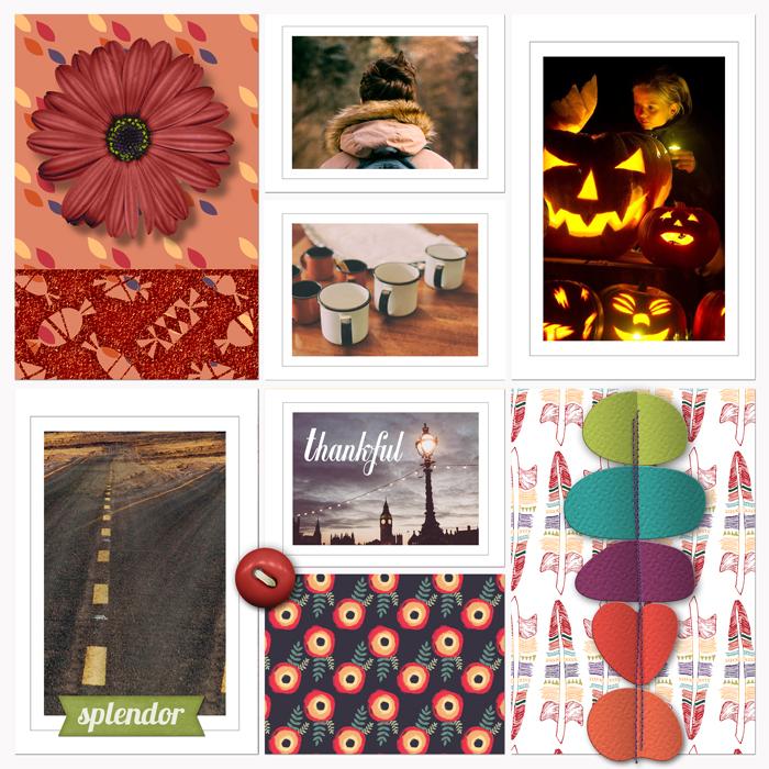 Pumpkin Spice Paper Pack