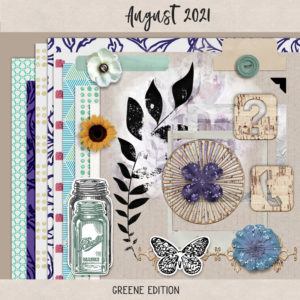 August 2021 Layouts 01, August 2021, greene edition, August 2021 Layouts 04; August 2021 Layouts 06