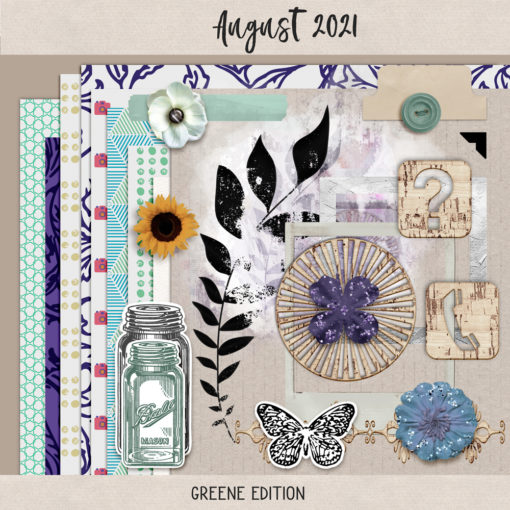 August 2021 Layouts 01, August 2021, greene edition