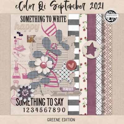 New Color Qi September 2021,September 2021 Color Qi Mini, greene edition