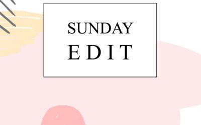 Quick Sunday Edit 01
