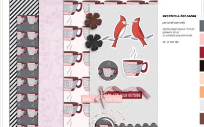 Sweaters & Hot Cocoa Mini Kit Freebie