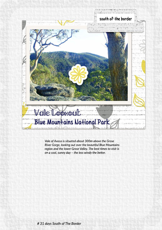 greene edition, 31 days in NSW A5 album, copyright 2021 www.greeneedition.com
