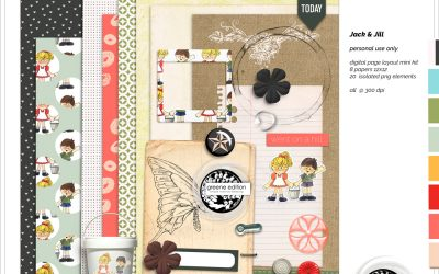 Jack and Jill Mini Kit Freebie