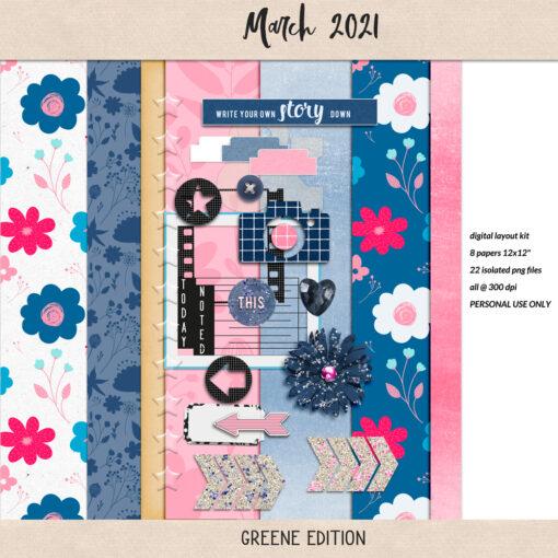 March Mini 2021, greene edition
