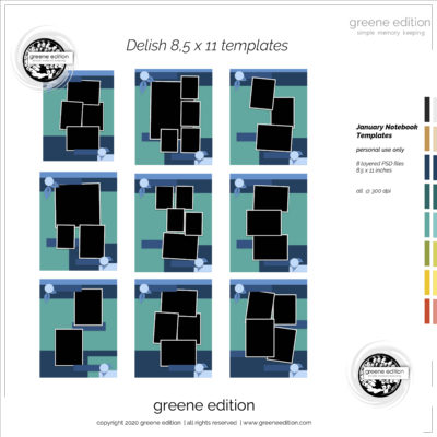 greene edition Delish Templates