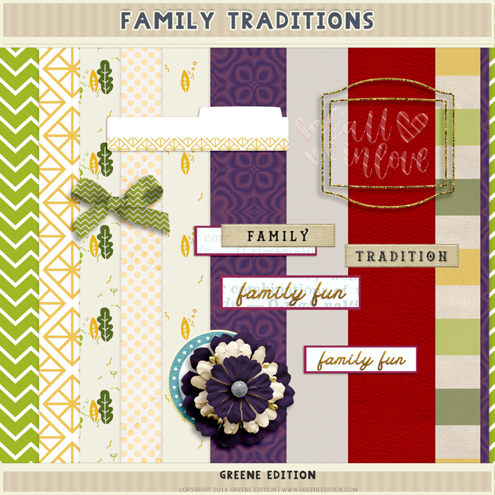 greene edition - copyright 2018 greene edition - www.greeneedition.com-framilytraditions-mini kit digital page layout kit
