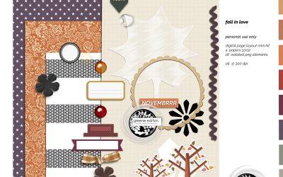 November Free Mini Kit