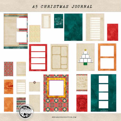 a5 christmas journal