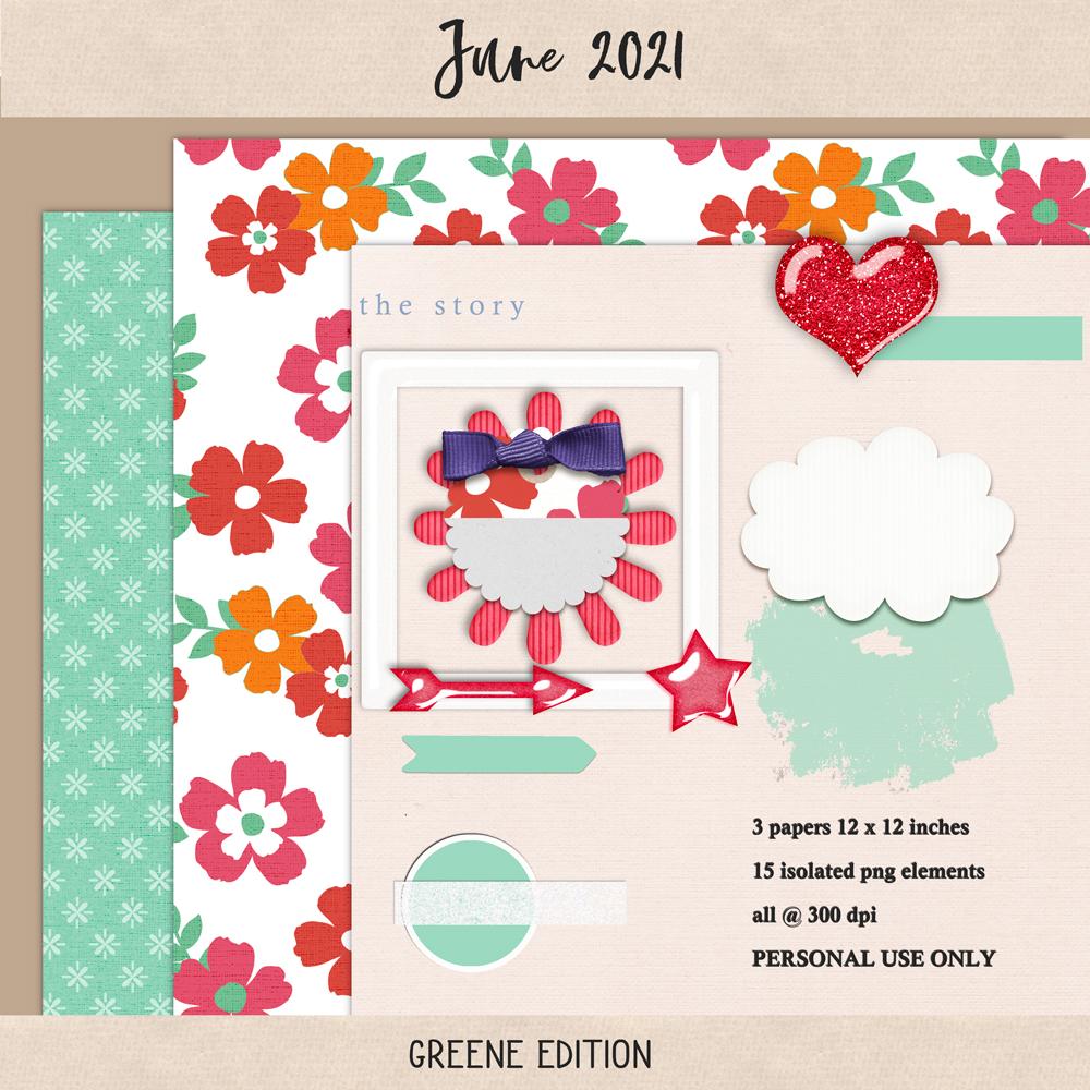 June 2021 Mini 01, greene edition