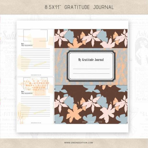 gratitude journal, greene edition
